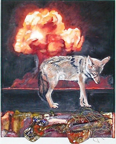 1. EVE OF DESTRUCTION 24_ x 30_ oil on canvas 2_23_18 2