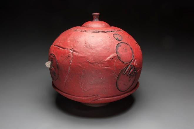 bulb red jar