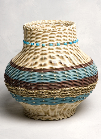 Indian Pottery Basket_72