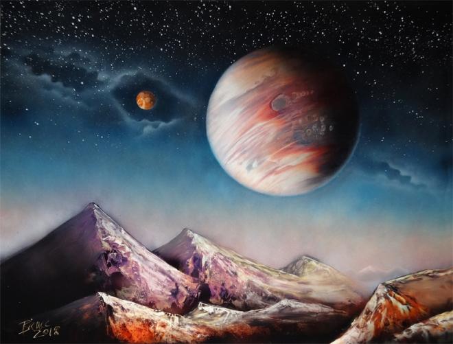 Planetary Landscape 2018
