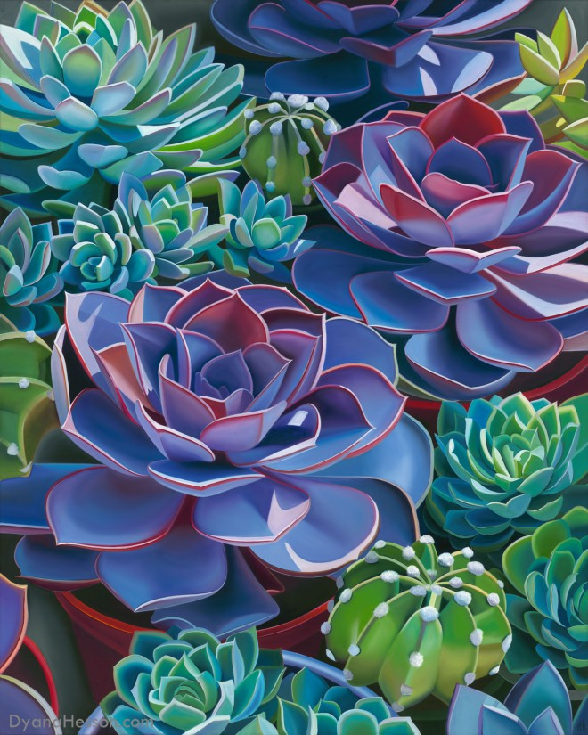 Dyana Hesson Affinity, Succulents in Pots 48x38 print_edited-1