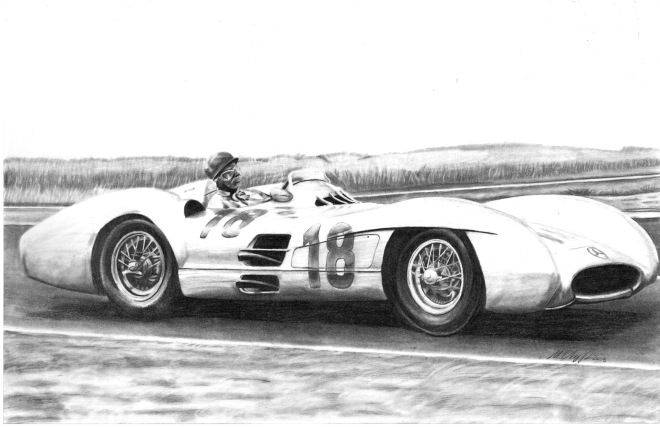 1954 Mercedes W196 Silver Arrow