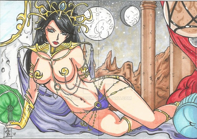 Dejah Thoris by Andy Bohn